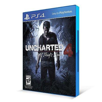 Uncharted 4 - PS4 - Mídia Física