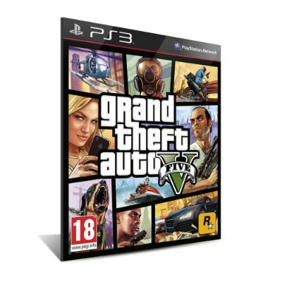 Grand Theft Auto V - GTA V - Playstation 3