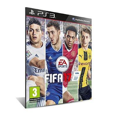 FIFA 17 PT-BR - Mídia Digital - Playstation 3