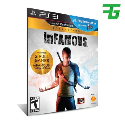 Infamous Collection 1, 2, Festival Of Blood - Mídia Digital - Playstation 3
