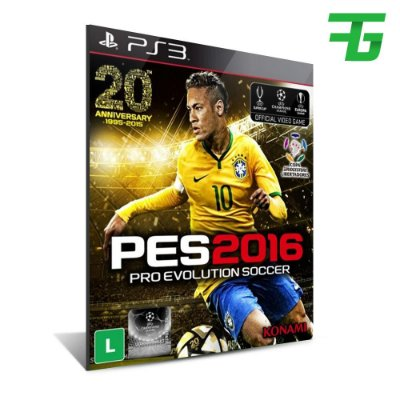 Pro Evolution Soccer 2016 - Mídia Digital - Playstation 3