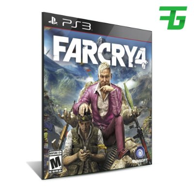 Far Cry 4 - Mídia Digital - Playstation 3