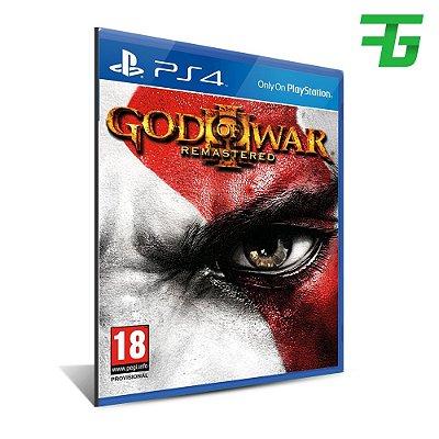 GOD OF WAR III REMASTERED PS4 - MÍDIA DIGITAL