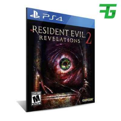 RESIDENT EVIL REVELATIONS 2 PS4 - MÍDIA DIGITAL