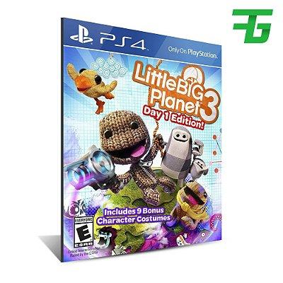LITTLEBIGPLANET 3 PS4 - MÍDIA DIGITAL