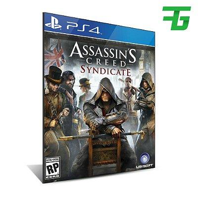 ASSASSIN'S CREED SYNDICATE PS4 - MÍDIA DIGITAL