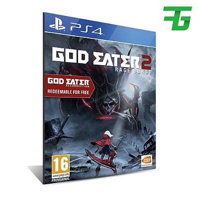 GOD EATER 2: RAGE BURST PS4 - MÍDIA DIGITAL