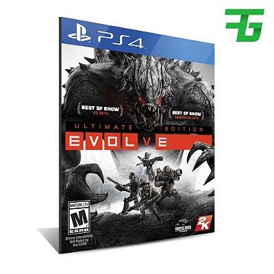 EVOLVE ULTIMATE EDITION PS4 - MÍDIA DIGITAL