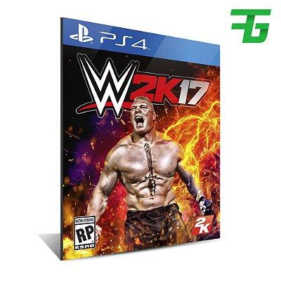 WWE 2K17 PS4 - MÍDIA DIGITAL
