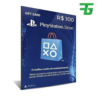 CARTÃO PSN 100 REAIS