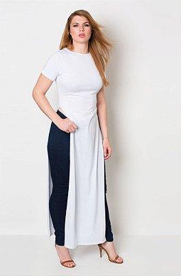 Maxi Blusa Branca
