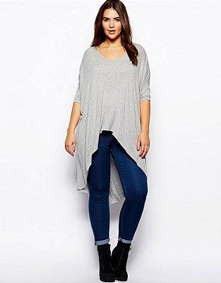 Blusa Oversized Viscolycra