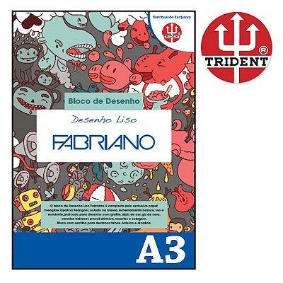 Bloco Papel Fabriano 180 g Liso - Tamanho 30 x 40 (A3)