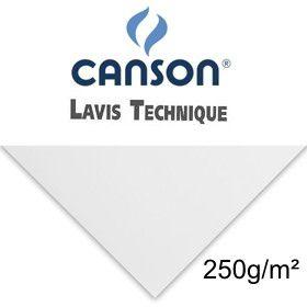 Papel Canson Lavis Technique - Folha Avulsa 50 x 60