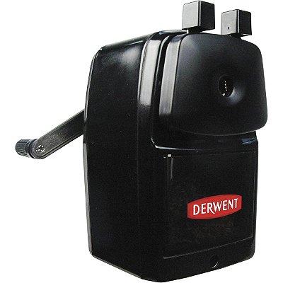 Apontador de Manivela 1 furo com deposito grade Derwent