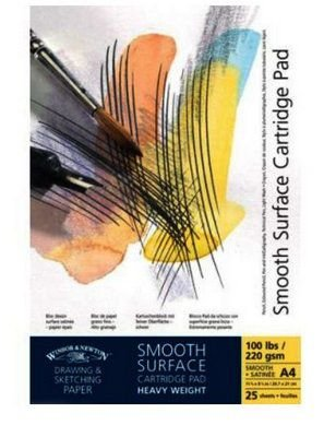 Bloco Winsor e Netwon Smooth Surface 220g/m2 A4