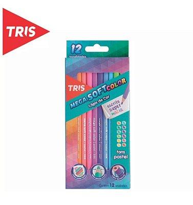 Mega Soft Color Tons Pastel 12 Cores