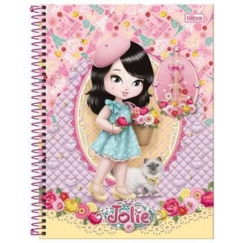 Caderno Jolie Paris 10x1 - 200 Folhas