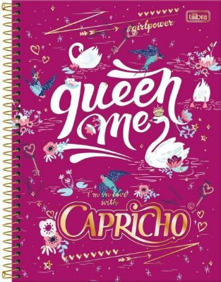 Cadernos 1 Matéria Capricho C/96 Fls - Tilibra