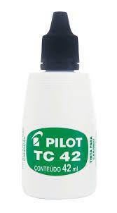 Tinta P/carimbo Azul Tc-42ml Pilot