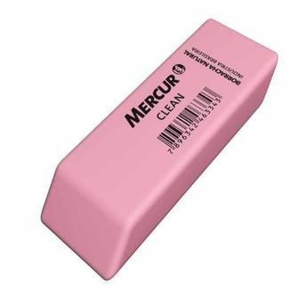 Borracha Mercur Clean Rosa