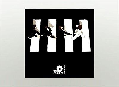 Imã de Geladeira - The Beatles - Abbey Road