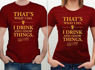 Pré-Lançamento - Camiseta GOT - Tyrion Lannister - Novo Nerd