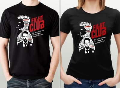 Camiseta Fight Club (Clube da Luta) - por Ulisses Amorim