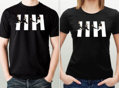 Camiseta The Beatles - Abbey Road - por Ulisses Amorim