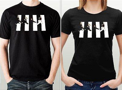 Camiseta The Beatles - Abbey Road - por Ulisses Amorim