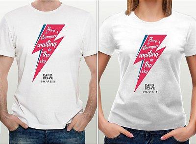 Camiseta David Bowie - por Ulisses Amorim