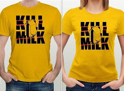 Camiseta Kill Milk - por @zhion