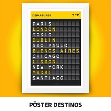 mini banner Poster Destinos