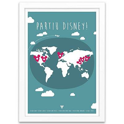 Pôster Partiu Disney