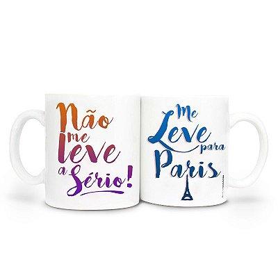 Caneca - Me leve para Paris