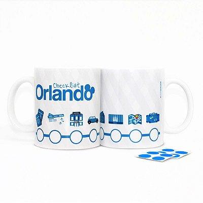 Caneca - Checklist para Orlando