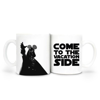 Caneca Star Wars - Come to the Vacation Side