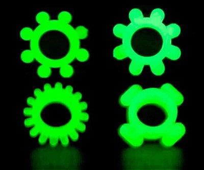 Anel Peniano Simples Mega Strech Fluorescente - KGel