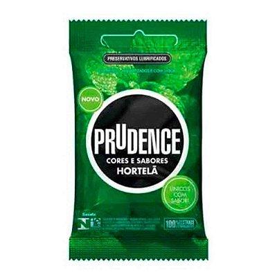 Preservativo Sabor Hortelã Com 3 Unidades - Prudence