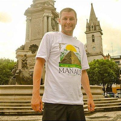 Camisa  Bem-vindo à Manaus