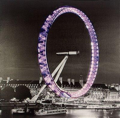 QUADRO LONDON EYE COM LED