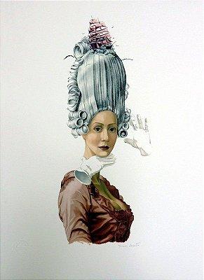 GRAVURA MARIA ANTONIETA-RAINHA DOS MARES