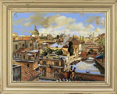 GICLÉE EM TELA: MY WINDOW'S VIEW (44x55 cm)