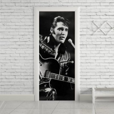 Adesivo de Porta Elvis