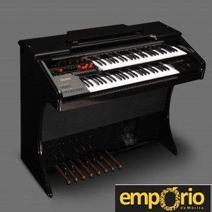 Orgão Eletronico Harmonia - HS-50 preto