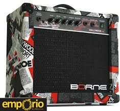 Caixa Amplificada BORNE para Guitarra  - STRIKE G70 HOLLYWOOD