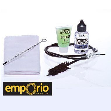 Kit de Limpeza Free Sax para Trombone pisto/ Bombardino/ Tuba