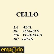 Encordoamento Completo para Cello Mauro Calixto