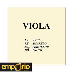Encordoamento Completo para Viola de Arco Mauro Calixto