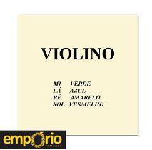 Encordoamento Completo para Violino Mauro Calixto